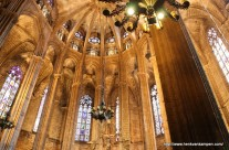 The old cathedral of Barcelona