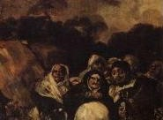 Goya's black paintings: Pilgrimage to St. Isidore's well
