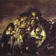 Goya's black paintings: Pilgrimage to St. Isidore's hermitage