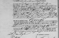 Birth certificate of Geertje Wiesenekker