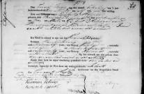 Birth certificate of Lambertje Molenaar