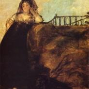 Goya's black paintings: A manola, doña Leocadia Zorilla