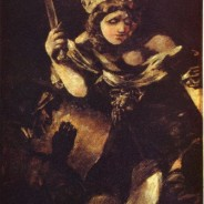 Goya's black paintings: Judith and Holofernes