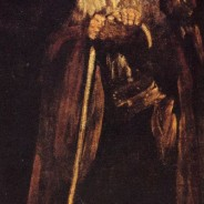 Goya's black paintings: Two friars