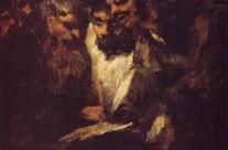 Goya's black paintings: The reading