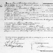 Death certificate of Cornelis Teunisz Koopman