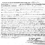 Death certificate of Johanna Jansen